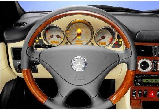 MERCEDES-BENZ Klasa SLK SLK R 170 kabriolet tablica rozdzielcza