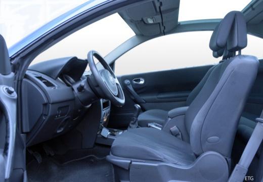RENAULT Megane CC kabriolet wnętrze