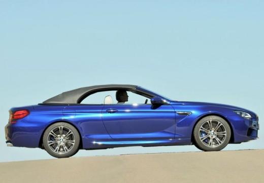 BMW Seria 6 Cabriolet F12 I kabriolet niebieski jasny boczny prawy