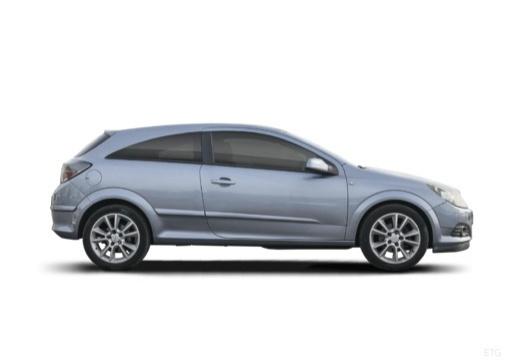OPEL Astra III GTC I hatchback szary ciemny boczny prawy