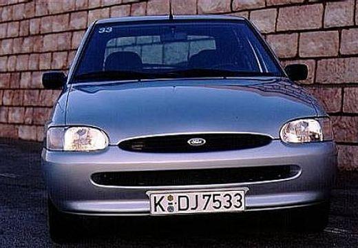 FORD Escort V hatchback silver grey przedni