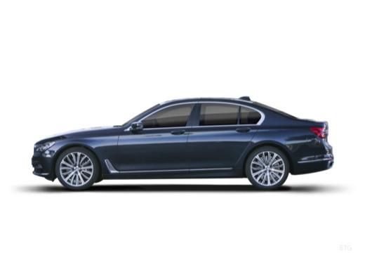 BMW Seria 7 G11 G12 I sedan boczny lewy