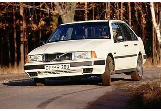 VOLVO 440 hatchback biały przedni lewy