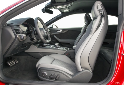 AUDI A5 III coupe wnętrze