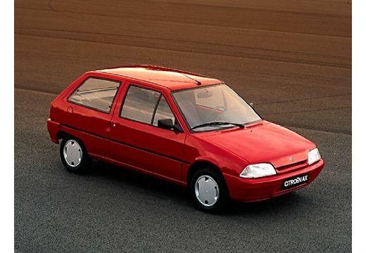CITROEN AX I hatchback czerwony jasny przedni prawy
