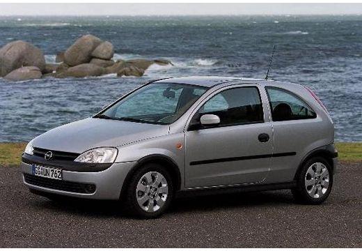 OPEL Corsa C I hatchback silver grey przedni lewy
