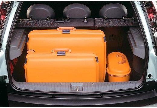 OPEL Corsa C I hatchback zielony jasny przestrzeń załadunkowa
