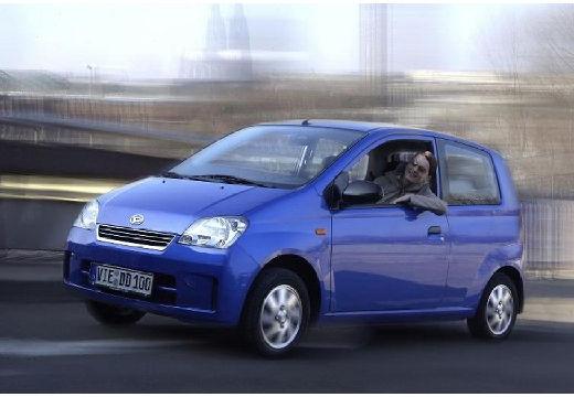 DAIHATSU Cuore hatchback niebieski jasny przedni lewy