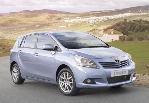Toyota Verso I kombi mpv silver grey przedni prawy