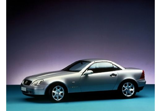 MERCEDES-BENZ Klasa SLK kabriolet silver grey przedni lewy