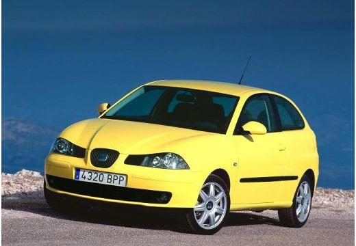 SEAT Ibiza IV hatchback żółty przedni lewy