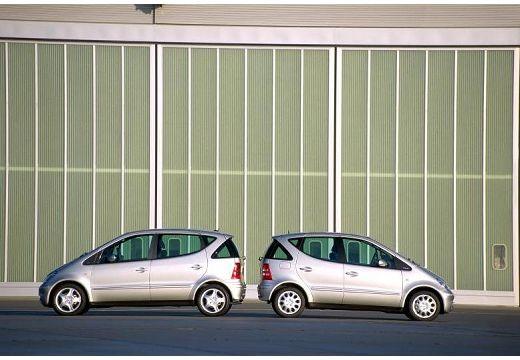 MERCEDES-BENZ Klasa A W 168 II hatchback silver grey