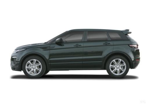 LAND ROVER Range Rover Evoque II kombi czarny boczny lewy