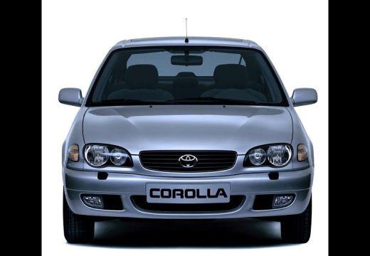 Toyota Corolla hatchback silver grey przedni