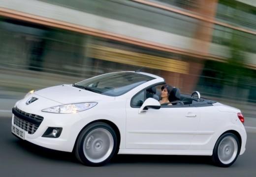 PEUGEOT 207 kabriolet biały przedni lewy