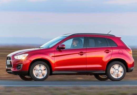MITSUBISHI ASX II hatchback czerwony jasny przedni lewy