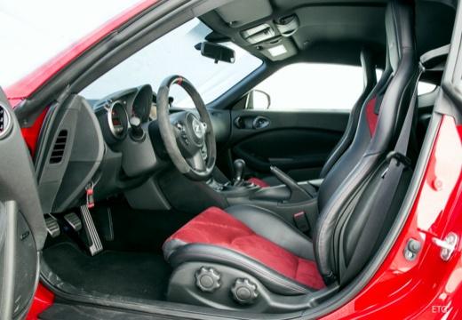 NISSAN 370 Z coupe wnętrze