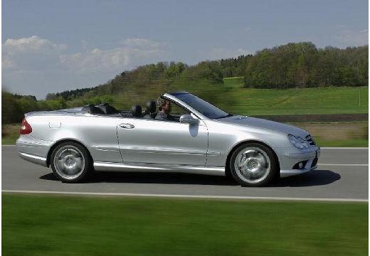 MERCEDES-BENZ Klasa CLK CLK Cabriolet A 209 II kabriolet silver grey przedni prawy