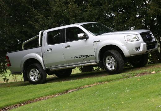 FORD Ranger II pickup silver grey przedni prawy