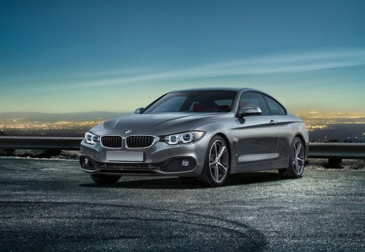 BMW Seria 4 F32 coupe silver grey