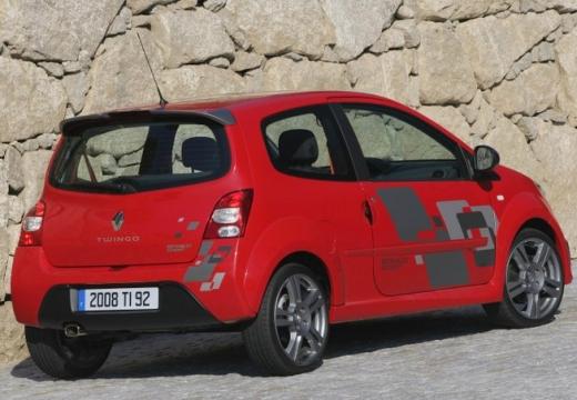 RENAULT Twingo IV hatchback czerwony jasny tylny prawy