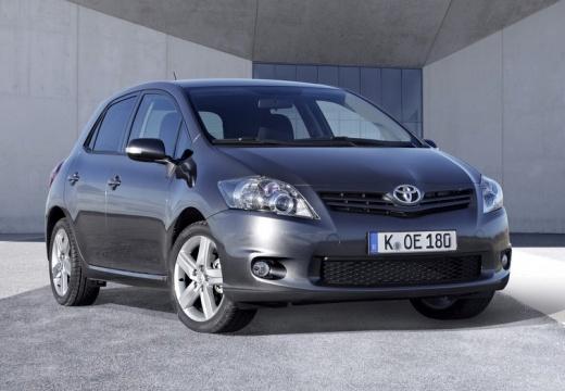 Toyota Auris hatchback niebieski jasny przedni prawy