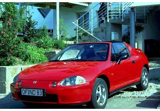 HONDA CRX Targa II coupe czerwony jasny przedni lewy