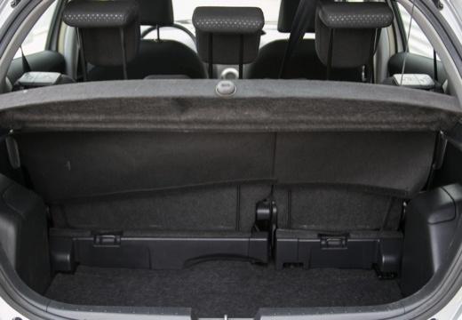 Toyota Yaris IV hatchback przestrzeń załadunkowa