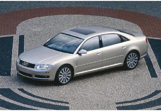 AUDI A8 4E I sedan złoty przedni lewy