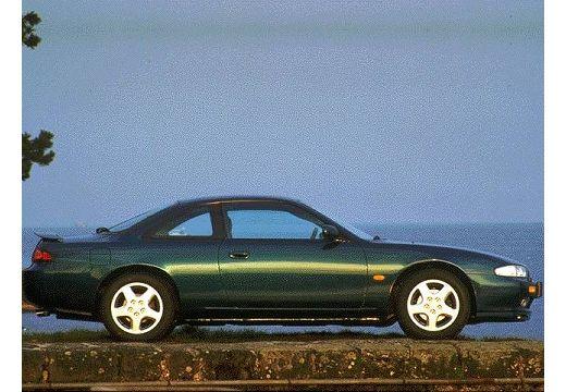 NISSAN 200 SX coupe zielony boczny prawy