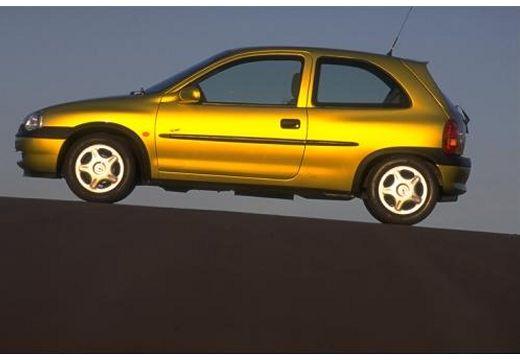 OPEL Corsa B hatchback boczny lewy