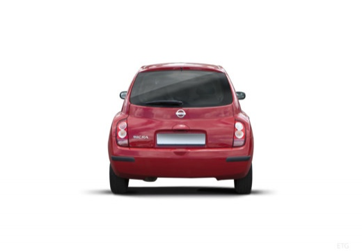 NISSAN Micra VI hatchback tylny