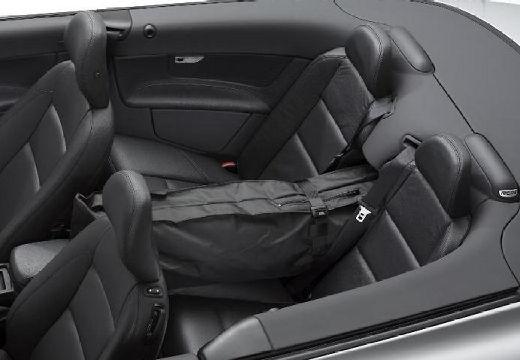 VOLVO C70 kabriolet silver grey wnętrze