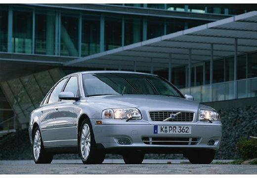 VOLVO S80 I sedan silver grey przedni prawy
