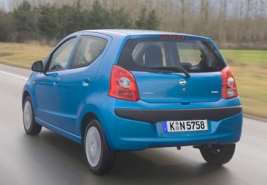 NISSAN Pixo hatchback niebieski jasny tylny lewy
