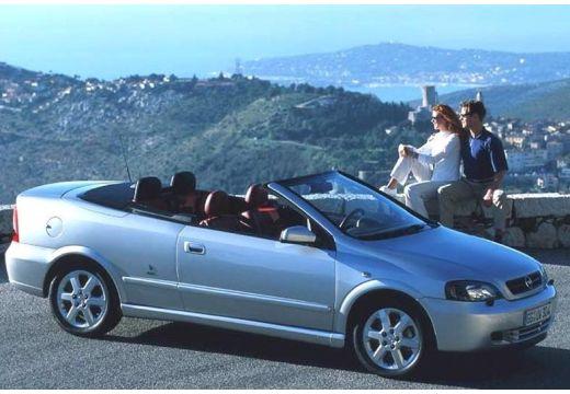 OPEL Astra kabriolet silver grey przedni prawy