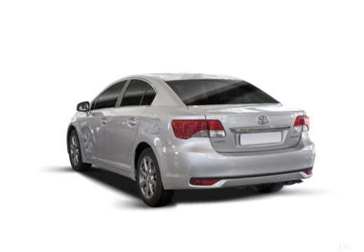 Toyota Avensis sedan silver grey tylny lewy