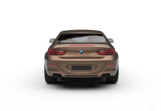 BMW 6 Серии купе задний