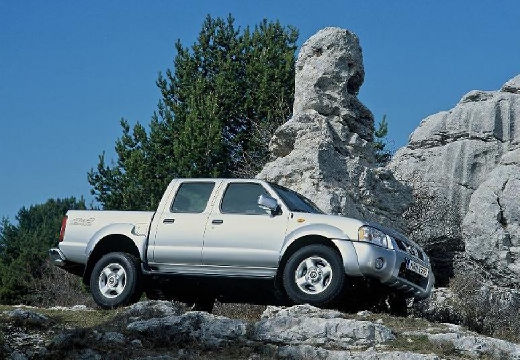 NISSAN Pick Up pickup silver grey przedni prawy