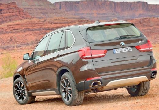 BMW X5 X 5 F15 kombi brązowy tylny lewy