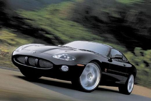 JAGUAR XK8 I coupe czarny przedni lewy