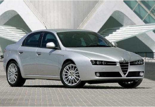 ALFA ROMEO 159 I sedan silver grey przedni prawy