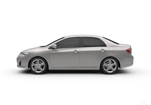 Toyota Corolla II sedan boczny lewy