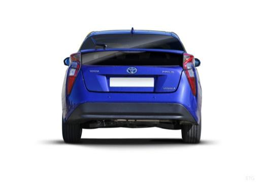 Toyota Prius IV hatchback tylny