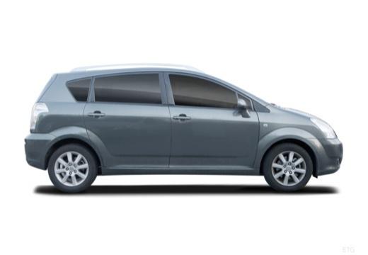 Toyota Corolla Verso II kombi mpv boczny prawy