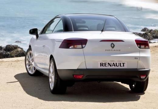 RENAULT Megane III CC kabriolet biały tylny lewy