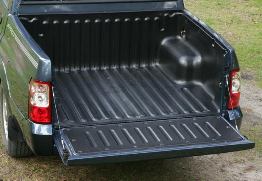 SSANG YONG Musso Sports pickup niebieski jasny przestrzeń załadunkowa