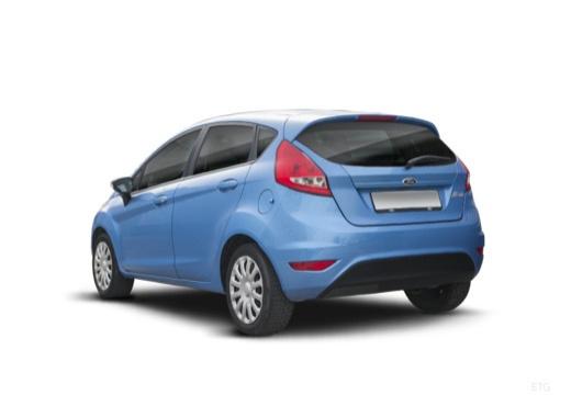 FORD Fiesta VII hatchback niebieski jasny tylny lewy