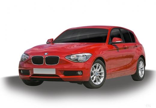 BMW Seria 1 F20 I hatchback czerwony jasny
