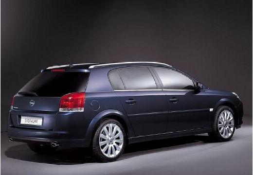 OPEL Signum II hatchback niebieski jasny tylny prawy